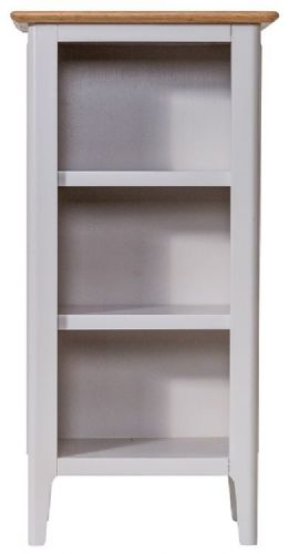 Belmont Painted Small Narrow Bookcase